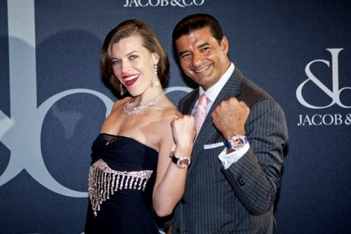 Мила Йовович стала лицом часовой компании Jacob & Co