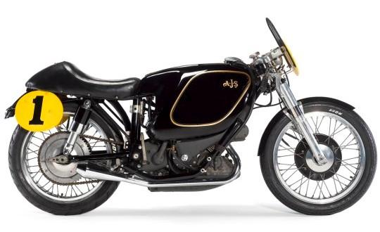 AJS E95 «Porcupine» - самый дорогой мотоцикл за $ 750000