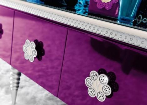 По-королевски гламурный спальный гарнитур от компании Altamoda