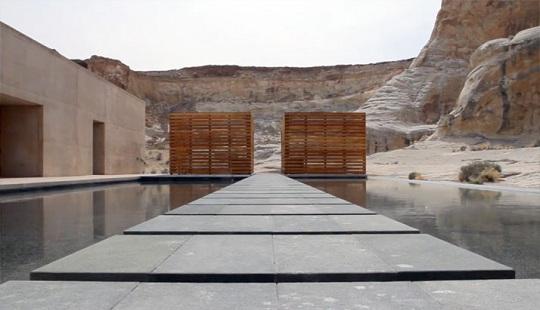 """Роскошный курорт """"Аманжири"""" посреди пустыни и гор юго-западной Америки"""
