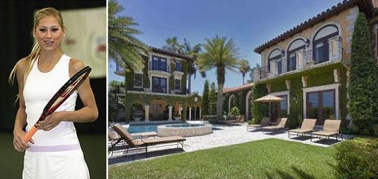 Дом Анны Курниковой выставлен на продажу за .4 млн