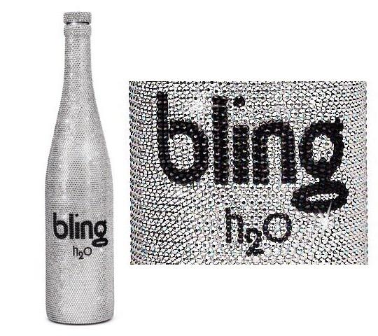 Bling H2O - самая дорогая вода в мире