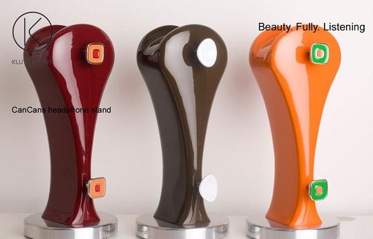 Дизайнерский стенд для наушников от Klutz Design