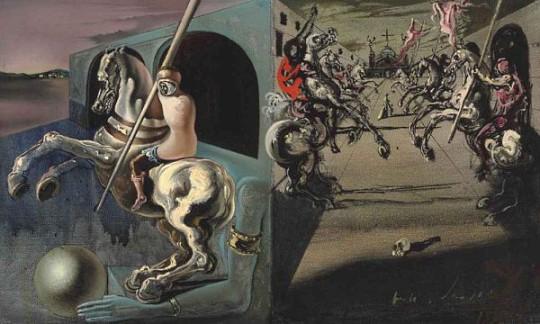 Леонардо Ди Каприо купил на аукционе картину Сальвадора Дали
