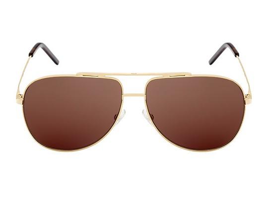 Dior Homme представил золотые очки Gold 01