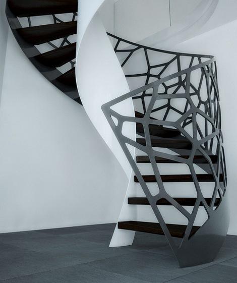 Оригинальные лестницы от компании Eestairs