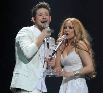 Победители на «Евровидение-2011» - дуэт из Азербайджана (ВИДЕО)