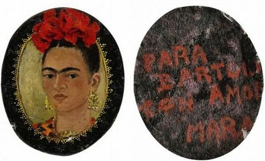 Автопортрет знаменитой художницы Фриды Кало уйдет с молотка  Sotheby's