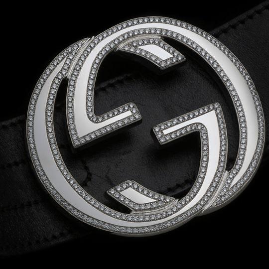 Бриллиантовый пояс Alexander Amosu для Gucci