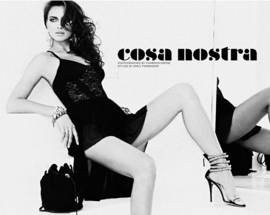 Ирина Шейк став звездой Cosa Nostra поделилась тайнами