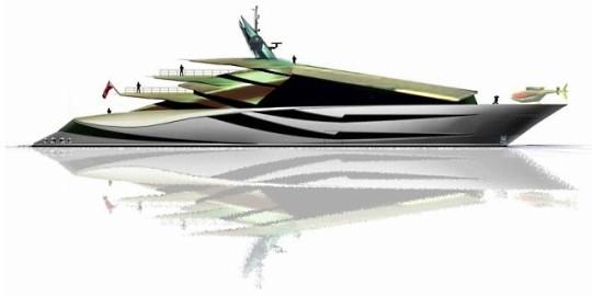 Iwana - суперяхта Игуана от Alex McDiarmid