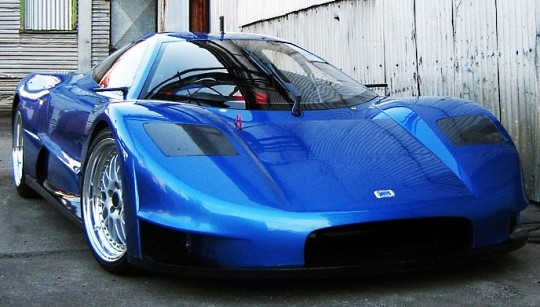 JOSS Developments создала первый австралийский суперкар JP1