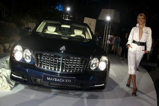 Бриллиантовый Maybach 62S для Канн