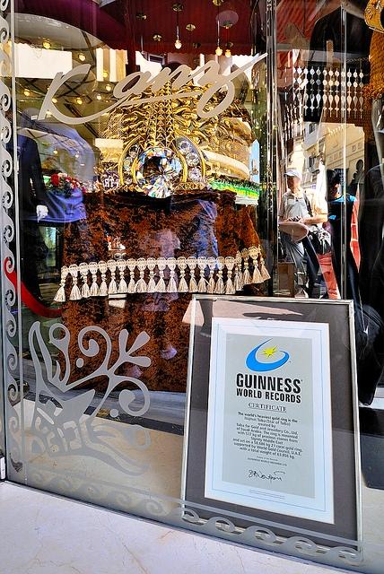 Najmat Taiba - крупнейшее кольцо в мире за $ 3 млн
