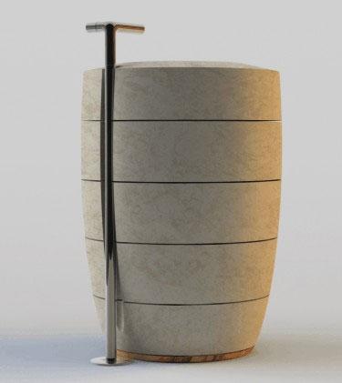 Сантехника из природного камня от Zaninelli