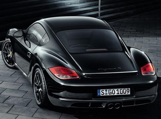 Porsche Cayman S Black Edition лимитируют до 500 моделей