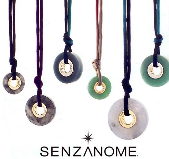 Нефритовые подвески от Senzanome