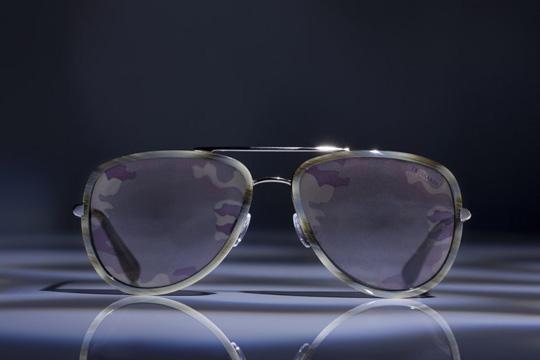 Камуфляжные очки от Trussardi