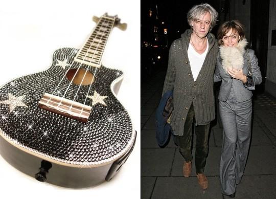 Гитара Ukulele CrystalSkins для семьи Гелдоф