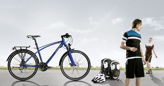 Mersedes-Benz представил новую коллекцию велосипедов