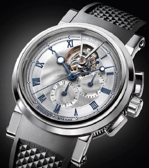 Breguet презентовала часы Marine Tourbillon 5837 в платине