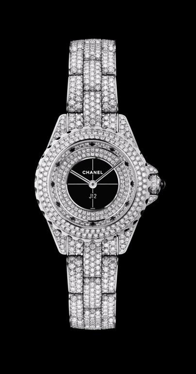 Новинка от Chanel - часы J12 29mm Diamonds