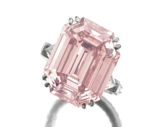 Розовый бриллиант весом 10,99 карата выставят на Sotheby's