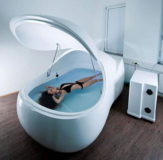 Floatworks и её резервуар для плаванья  i-sopod