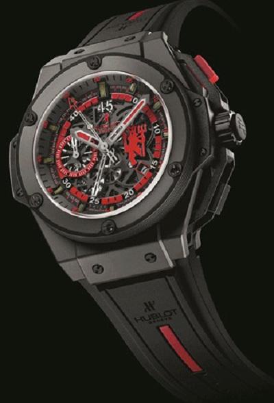 Футбольные часы King Power Red Devil Watch for Manchester United от Hublot