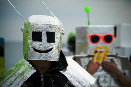 Маевка на Казантипе прошла Демонстрацией Роботов