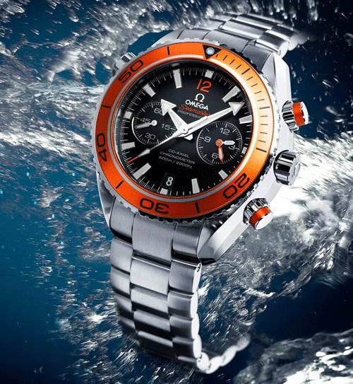Omega представила дайверский хронограф Planet Ocean Chrono