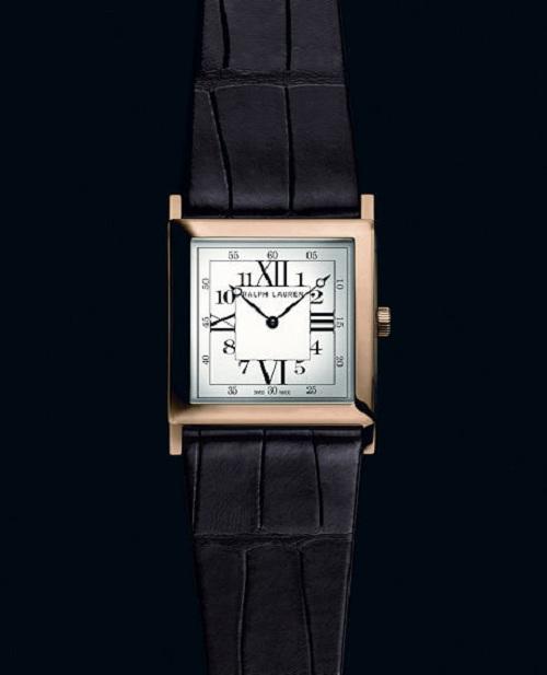 Ralph Lauren презентовал часы Slim Classique Square