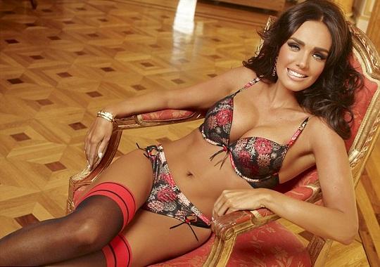 Тамара Эклстоун стала лицом Ultimo lingerie