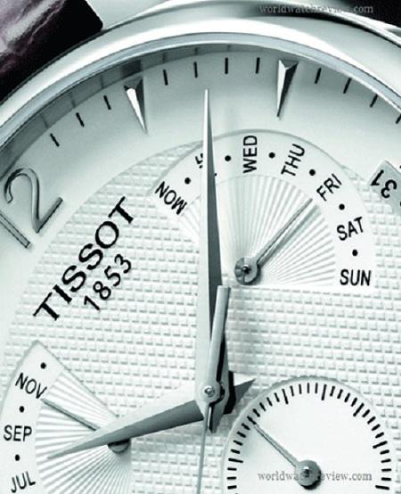 Tissot представил новую модель Tradition с вечным календарем