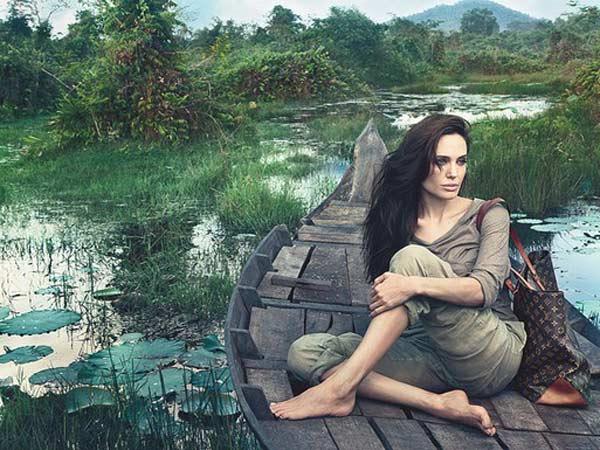 Анджелина Джоли в новой кампании Louis Vuitton