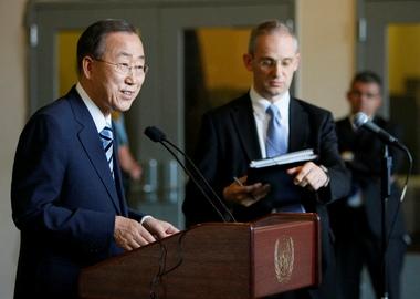 Пан Ги Мун назначен Генсеком ООН на второй срок
