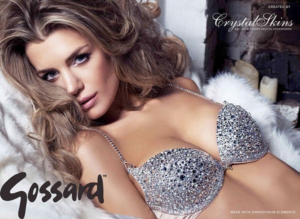 Эль Либераджи в рекламе нового бюстгальтера в кристаллах Swarovski