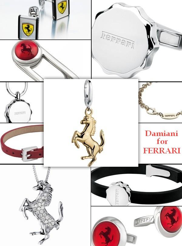 Коллекция украшений Ferrari от Damiani