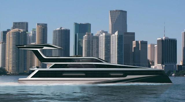 Карбоновая яхта Emax Excalibur