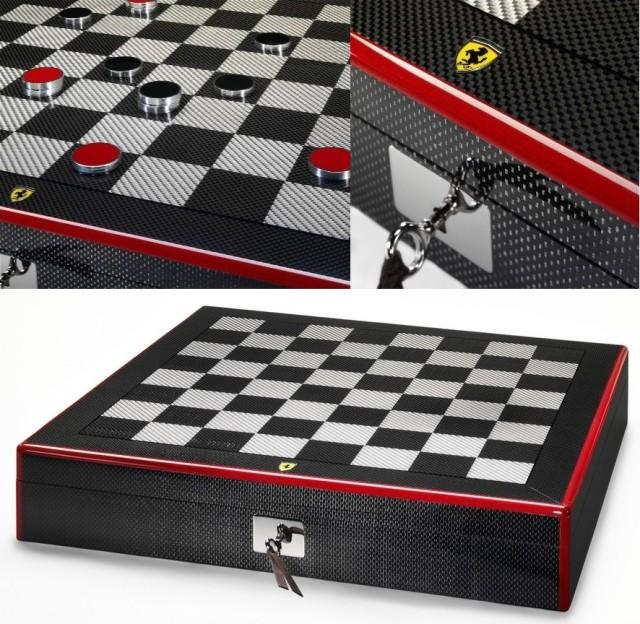 Карбоновые шахматы от Ferrari