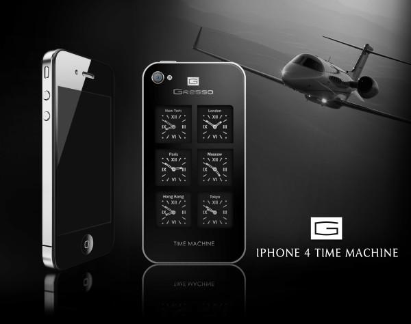 Gresso iPhone 4 Time Machine - машина времени в стиле Люкс