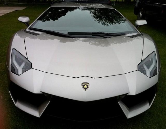 Lamborghini Aventador для Бэтмена