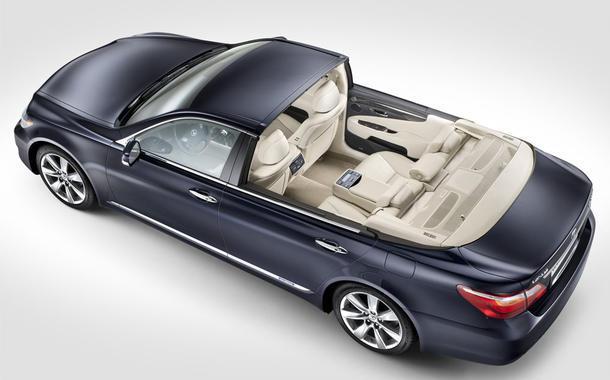 Lexus Landaulet LS600h для свадьбы князя Монако Альберта II и Шарлин Уиттсток