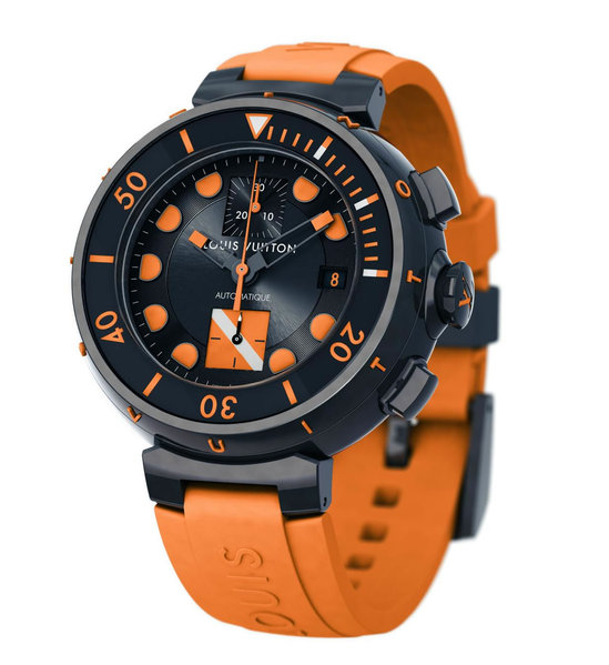 Хронограф Tambour Diver от Louis Vuitton