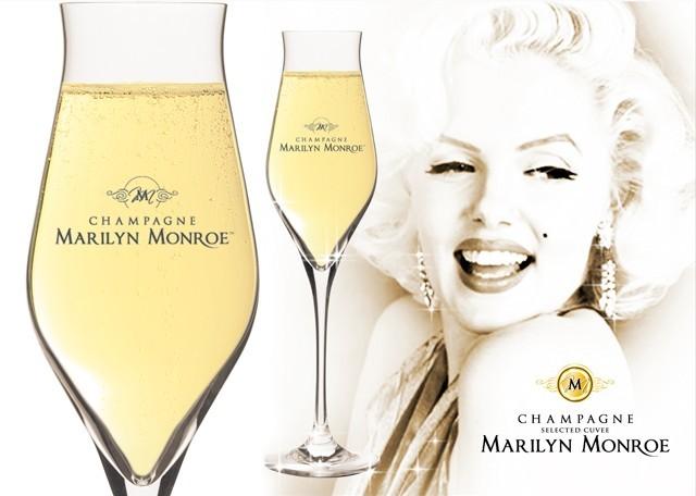 В честь Мэрилин Монро выпущено шампанское Marilyn Monroe Premier Cru Brut