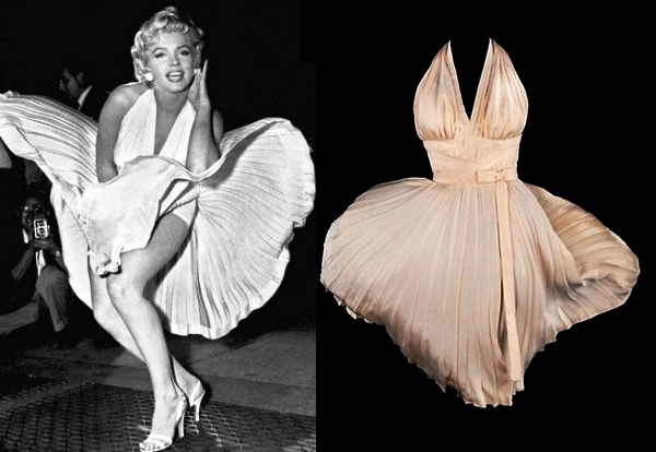 Легендарное платье Мэрилин Монро продадут за  млн
