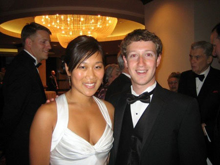 Марк Цукерберг женится на Присцилле Чен
