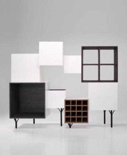 Дизайнерский шкаф от BD Barcelona