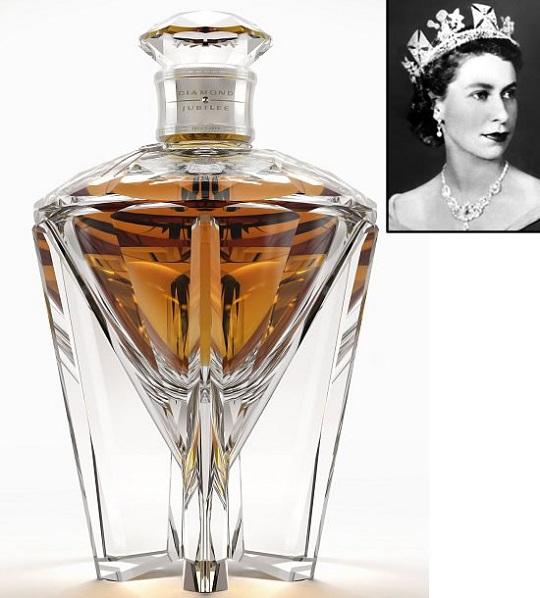 John Walker и Diageo выпустили виски «Diamond Jubilee» в честь Королевы Елизаветы
