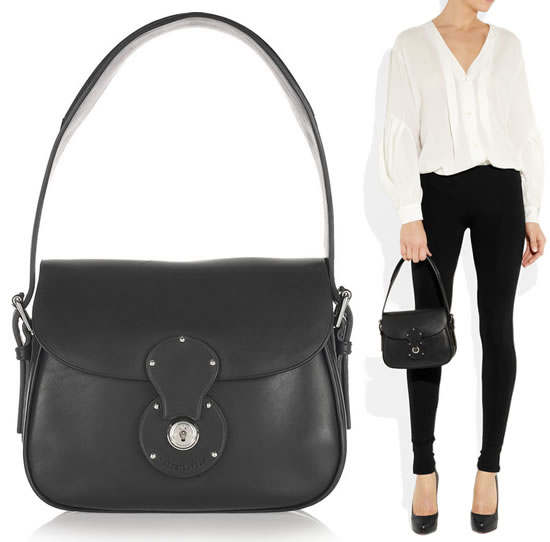 Компактная кожаная сумка от Ralph Lauren Ralph Lauren - имя, от которого женщины всего мира просто пищат.